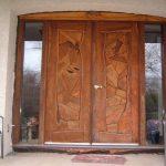 estilos de puertas de madera