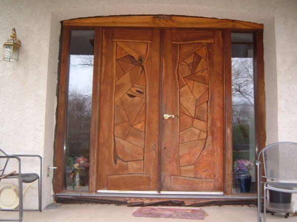 Estilos de puertas de madera estilos for Estilos de puertas de madera