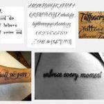 estilos de letras