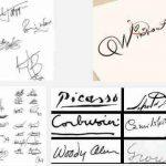 Estilos de firmas