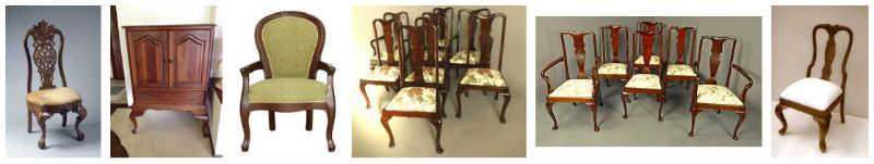 nombres de muebles antiguos