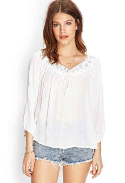 estilos de blusas