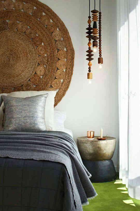 estilo de cama bohemia