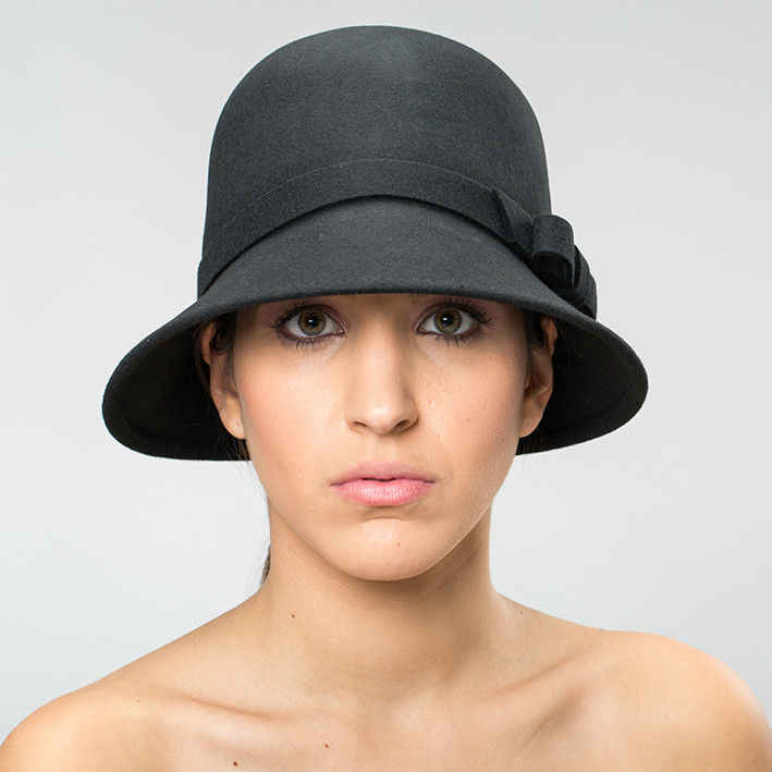 sombrero estilo cloche