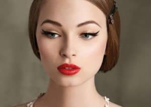 maquillaje estilo pin up