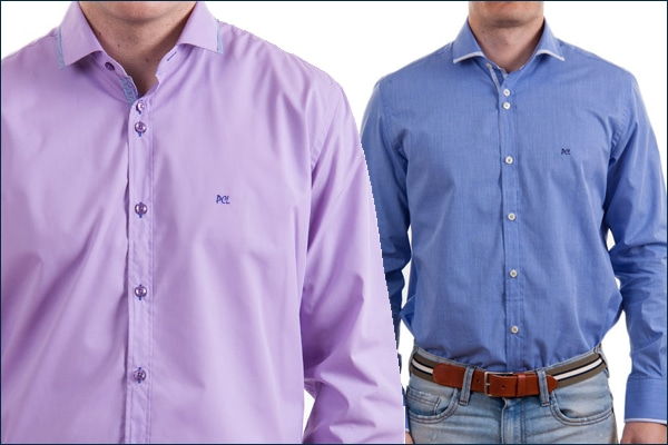 estilo camisa italiana