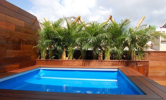 piscinas con terraza imagen