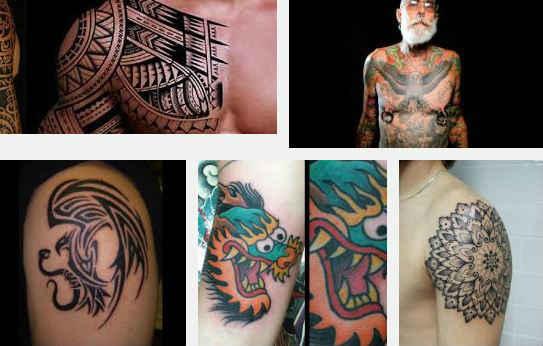 estilos de tatuajes