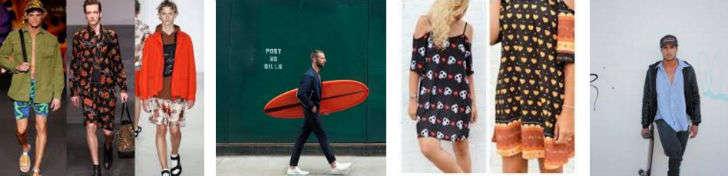 estilo moda surfer