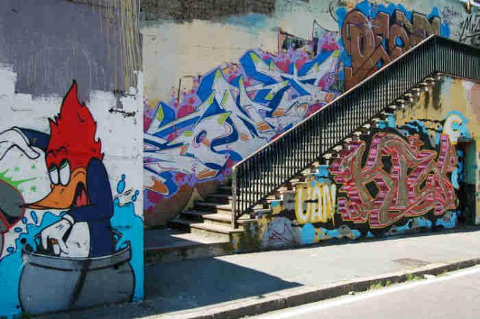 estilos de graffitis