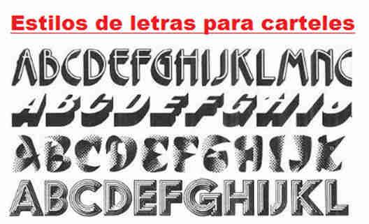 Estilos de letras estilos for Estilos de letras