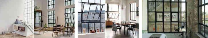 ventanas estilo industrial