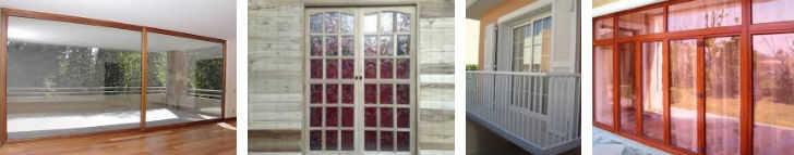 ventanales de balcón