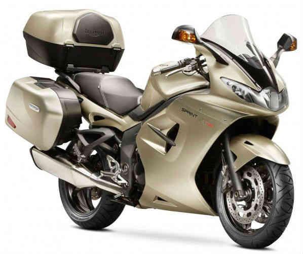 moto estilo turismo