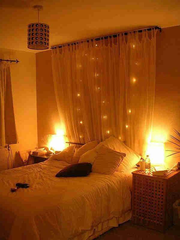 estilo de cama romántica