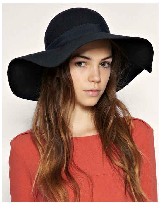 estilo sombrero floppy hat