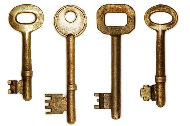 estilos de llave clasico