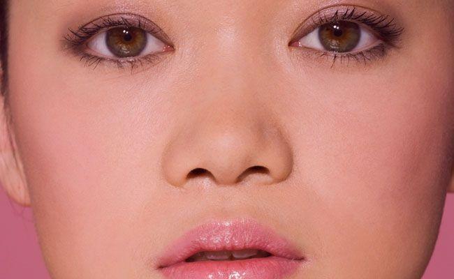 estilo de nariz oriental