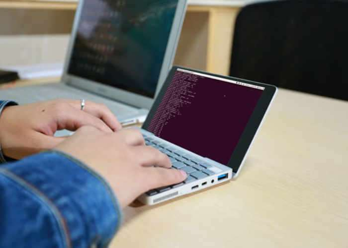 Mini laptop imagen