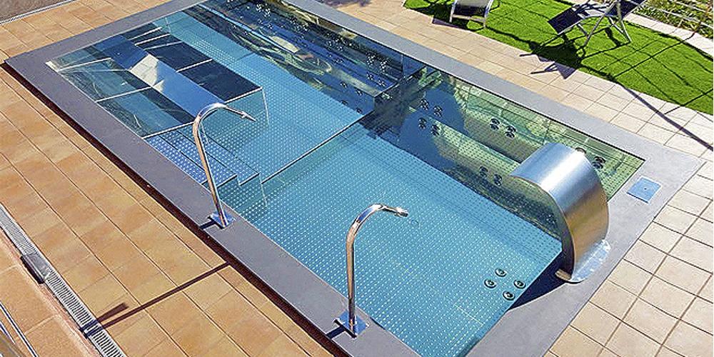piscinas de acero imagen